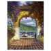 James Coleman Limited Edition Giclee on Canvas Gateway to the Sea (AP)