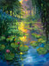 Artist James Coleman Limited Edition Giclee on Canvas Giverny