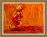 Henry Asencio Limited Edition Giclee on Canvas Golden Aura