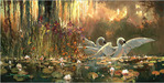 James Coleman Limited Edition Giclee on Canvas Golden Moment (20 x 40)