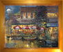 James Coleman Limited Edition Giclee on Canvas Harbor Cafe