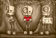 Fabio Napoleoni Limited Edition Giclee on Paper I Love You (Sepia) - SN #1