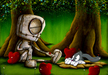 Fabio Napoleoni Limited Edition Giclee on Paper It Doesn't Bite (PP)