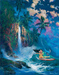 Artist James Coleman Limited Edition Giclee on Canvas Kauai Dream
