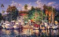Cao Yong Limited Edition Giclee on Canvas Lahaina Afternoon