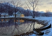 Alexei Butirskiy Limited Edition Giclee on Canvas The Lake House