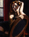 Fabian Perez Limited Edition Giclee on Canvas Laura