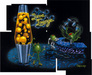 Michael Godard Limited Edition Fine Art Limited Edition Giclee on Canvas Lava Lounge (Mosaic Mural)