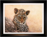 Jacquie Vaux Original Water Color Leopard Cub