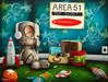 Fabio Napoleoni Limited Edition Giclee on Paper Let Me Play Among The Stars (Itty Bitty Print)