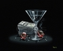 Godard Martini Art Limited Edition Giclee on Canvas Like A G (SN)