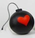 Fabio Napoleoni Sculpture Love Bomb (Red) Sculpture