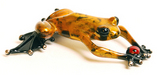 Frogman - Tim Cotterill Bronze Sculpture Lucky Bug