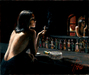 Fabian Perez Limited Edition Giclee on Canvas Marmol Negro