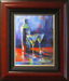 Michael Flohr Art Limited Edition Giclee on Canvas Martini for Two