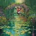 James Coleman Limited Edition Giclee on Canvas Mickey and Minnie at Giverny