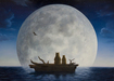 Robert Bissell Limited Edition Giclee on Canvas Moonlighters (Deluxe AP Hand-Enhanced)