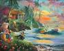 James Coleman Limited Edition Giclee on Canvas Paradise Season