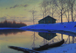 Alexei Butirskiy Limited Edition Print On Aluminum Peaceful Sunset
