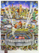 Charles Fazzino 3D Art Limited Edition 3-Dimensional Serigraph Super Bowl XLVIII (DX)
