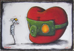 Fabio Napoleoni Mixed Media on Paper Better Days Ahead (SN)