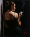 Fabian Perez Limited Edition Giclee on Canvas Sensual Touch