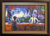 Michael Flohr Art Limited Edition Giclee on Canvas Shaken Not Stirred