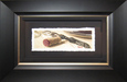 Arvid Wine Art Original Water Color Silver Oak Pull (Framed) Original