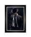 Fabian Perez Limited Edition Giclee on Canvas Man in Black Suit III