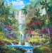 James Coleman Limited Edition Giclee on Canvas Surrender to Aloha