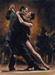perez tango Limited Edition Giclee on Canvas Study For Tango II