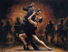 perez tango Limited Edition Giclee on Canvas Tango II