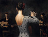 perez tango Limited Edition Giclee on Canvas Tablao Flamenco V