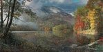 Phillip Philbeck Limited Edition Giclee on Canvas Table Rock in Autumn
