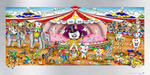 Charles Fazzino 3D Art Limited Edition Print On Aluminum The Dental Circus (DX)