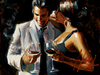 Fabian Perez Limited Edition Giclee on Canvas The Proposal VIII