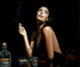 Fabian Perez Limited Edition Giclee on Canvas The Singer