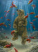 Robert Bissell Limited Edition Giclee on Canvas The Swimmer (Collectors Edition)