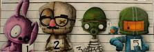 Fabio Napoleoni Limited Edition Giclee on Canvas The Usual Suspects (SN #1)