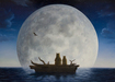 Robert Bissell Limited Edition Giclee on Canvas The Moonlighters (Small Works)