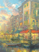 James Coleman Limited Edition Giclee on Canvas The Evening Begins
