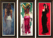 Henry Asencio Limited Edition Giclee on Canvas Trilogy Suite -