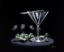 Godard Martini Art Limited Edition Giclee on Canvas Under the Knife (28 x 35)
