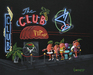 Godard Martini Art Limited Edition Giclee on Canvas VIP (17.5 x 22)