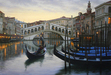 Alexei Butirskiy Limited Edition Giclee on Canvas Venetian Holiday