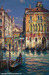 Cao Yong Limited Edition Giclee on Canvas Venetian Sunset