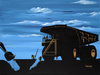 Godard Martini Art Limited Edition Giclee on Canvas Vodka Sands (17.5 x 23.5)