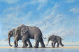 Robert Bissell Limited Edition Giclee on Canvas Voyagers (Collector Edition)