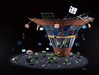 Godard Martini Art Limited Edition Giclee on Canvas Wall Street Martini (17.5 x 22)