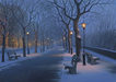 Alexei Butirskiy Limited Edition Print On Aluminum Winter's Caress